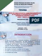 TESINA Psicoprofilaxis Obstetrica Hospital Tuman
