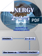 Synergy & Dysergy by IPS