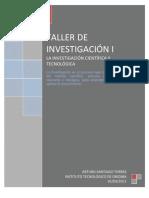 La Investigacion Cientifica Y Tecnologica 2