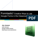 Creative Ways to Use Google Forms