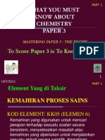 Chem Paper 3 spm latest tips and technique in answering