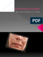 Administering Oxygen