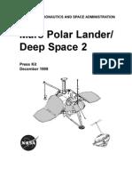 Mars Polar Lander Facts