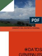 Oriente Del Distrito Federal