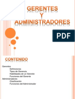 Gerentes y Administradores