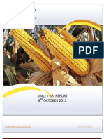 DAILY AGRI REPORT BY EPIC RESEARCH- 8 OCTOBER 2012