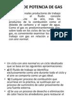 Ciclos de Potencia de Gas