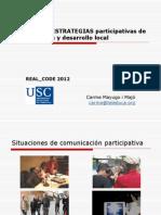 Tácticas y estrategias participativas com y des local_Carme Mayugo