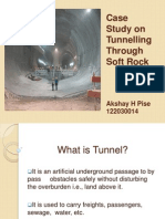 Case Study on Tunnelling Through Soft Rock