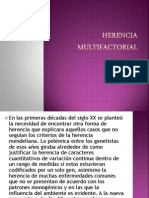 Herencia Multifactorial Ppt