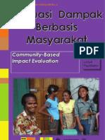 Monev Partisipatif. Evaluasi Dampak Berbasis Masyarakat. Sebuah Panduan untuk Fasilitator