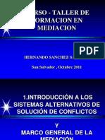 Presentacion Curso Taller de Formacion en Mediacion