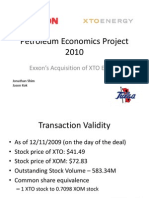 Petroleum Economics Project 2010