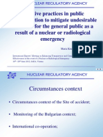 Dimitrova Krusteva Effective - Practices in public communication to mitigate undesirable outcomes for the general public as a result of a nuclear or radiological emergency