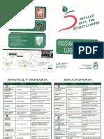 Actividades Salud Coslada 2012 2013