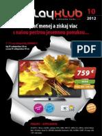 Leták Playklub 10/2012