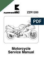 Kawasaki ZZR1200 C1 C3