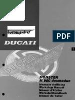 Ducati Monster 900 Sm