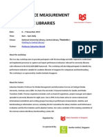 Performance Measurement in Academic Libraries