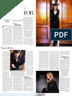 Interviu Harper's Bazaar