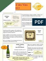 Descriptif Des Vins GEOMOUN - Nov 2012