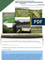 Elementos de valor agroecológico de los navazos como agroecosistema tradicional sanluqueño
