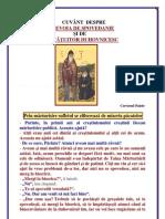 103. Nevoia de Spovedanie Si de Povatuitor Duhovnicesc