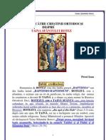 108. Taina Sfantului Botez
