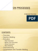 Plastics Fabrication Processes