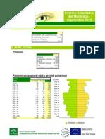 Informe Estadistico Pegalajar ARGOS Septiembre 2012