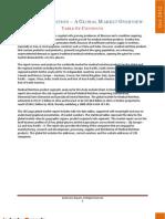Medical Nutrition – A Global Market Overview