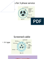 Cables for 3 Phase Service