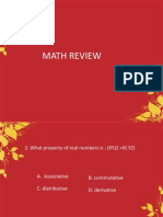 Math Review(Series1)