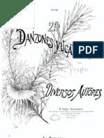 24 Danzones para Piano