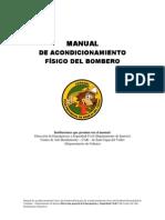 Manual Acondicionamiento Fisico para bomberos