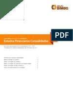 Grupo Bimbo Estados Financieros Consolidados 2011