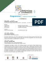 Festival delle Professioni, Trento 18-20 ottobre 2012