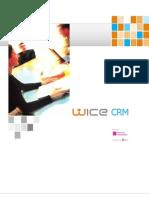 WICE CRM Broschuere