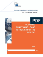 Blending Grants and Loans in the Light of the New DCI