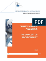 Climate Change Financing
