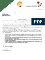 Landtagsanfrage und Antwort zu ESF-Beiträgen an Verbände