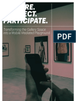 Explore Connect Participate. Transforming the Gallery Space into a Mobile Mediated Playground
