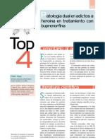 TOP-4. Patología dual en adictos a
