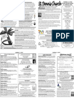 October 7 Bulletin