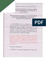 Texto íntegro de la propuesta que López Mena le hizo al gobierno por Pluna