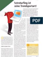 """""""Astroturfing ist keine Trendsportart"""", Kolumne von Marco Nussbaum in Hotel&Technik 03/12"""
