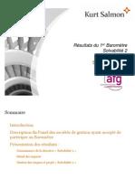 baromètre Solvabilité 2 AFG