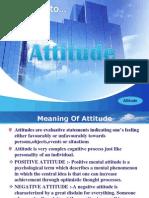 Attitude PPT(MBA Hons.)