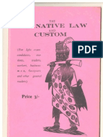Ofo Law of Igbo