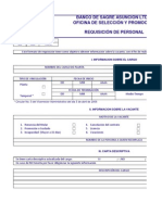 FORMATOS PRESELECCION